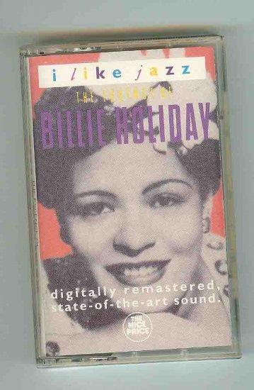 Billie Holiday - I Like Jazz  1991 CASSETTE