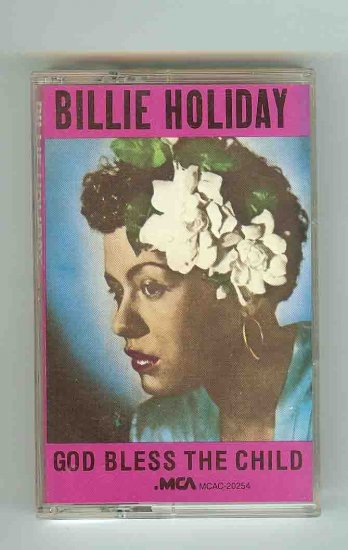 Billie Holiday - God Bless The Child CASSETTE  (1985)
