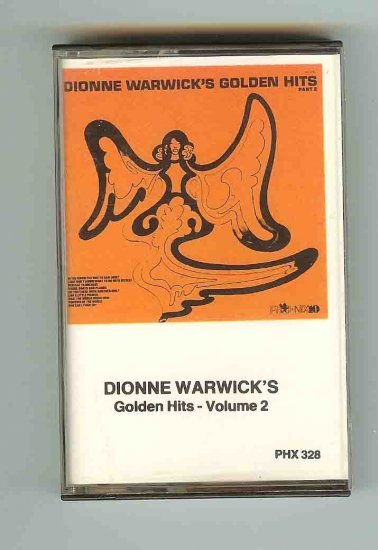 Dionne Warwick Golden Hits Vol2 - CASSETTE
