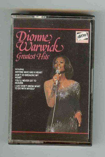 Dionne Warwick Greatest Hits vol1 CASSETTE