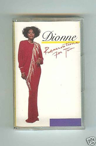 Dionne Warwick - Reservations For Two - 1987 - CASSETTE