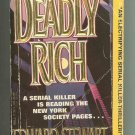 Deadly Rich by Edward Stewart (1992)