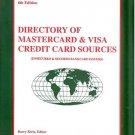 DIRECTORY OF MASTERCARD & VISA CREDIT CARD SOURCES