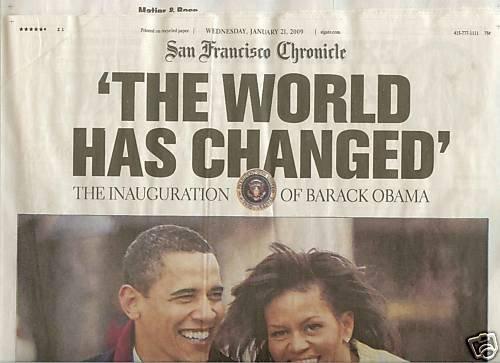 Barack Obama Inauguration - San Francisco Chronicle