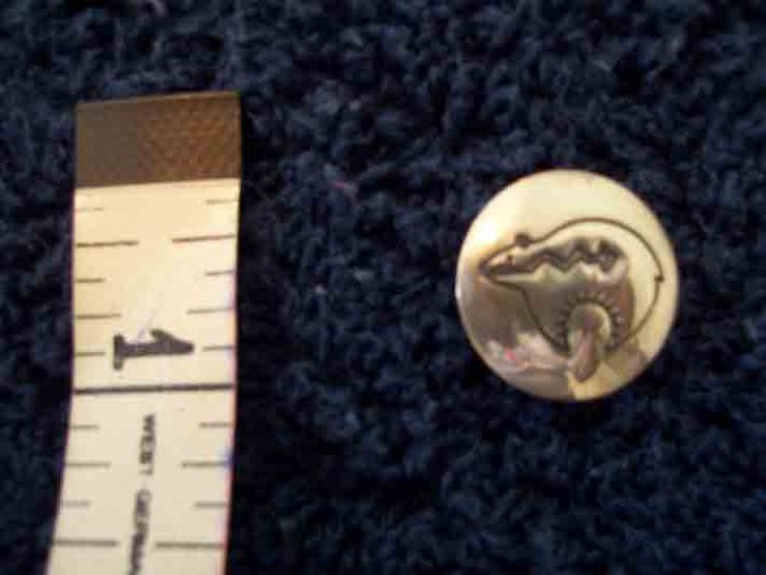 Silver-plated Button Cover - Cool Design !!!!