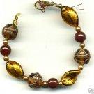 Bronzy-gold Venetian Twist Bracelet