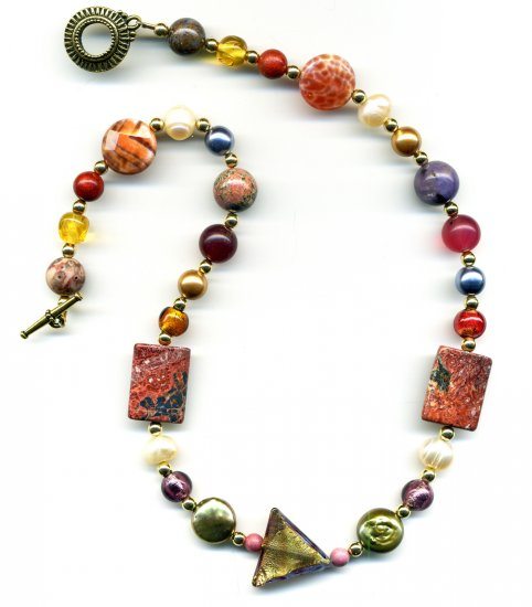 Triangle Medley Necklace