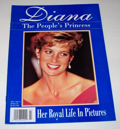 DIANA The People�s Princess Vol 1 No 2 Magazine