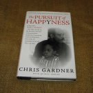 Chris Gardner Pursuit of Happyness HCDJ 1st ED /1st Print