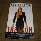 Treason: Liberal treachery From The Cold War To The War On Terrorism  Ann H. Coulter 2003 HC Dj