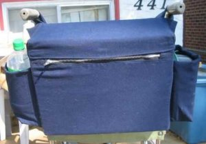 Custom Made Wheelchair Bag Tote BackPack