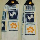 Kitchen Hand Towels Country Chicken FREE SHIPPING