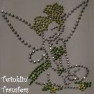 Rhinestone Hot Fix Iron On Transfer TINKERBELL TINK