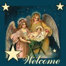 Rhinestone Transfer Iron On CHRISTMAS ANGEL