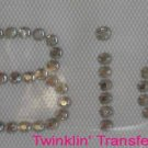 Rhinestone Transfer Hot Fix Iron On I BID AUCTION