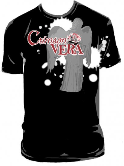 CrimsonVERA Dark Angel Mens Tee