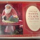 Vintage 3D Santa Claus Cake Pan