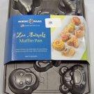 Cupcake Pan Muffin Pan Zoo Animals Cast Cake Mold
