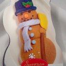 Snowman Cake Pan Cast Cake Mold