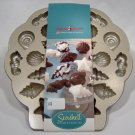 Tea Cakes and Candy Mold Pan Seashell
