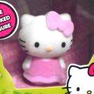 Hello Kitty Sanrio Toy Flocked Figure Fuzzy Plush Like Vanity Collectible