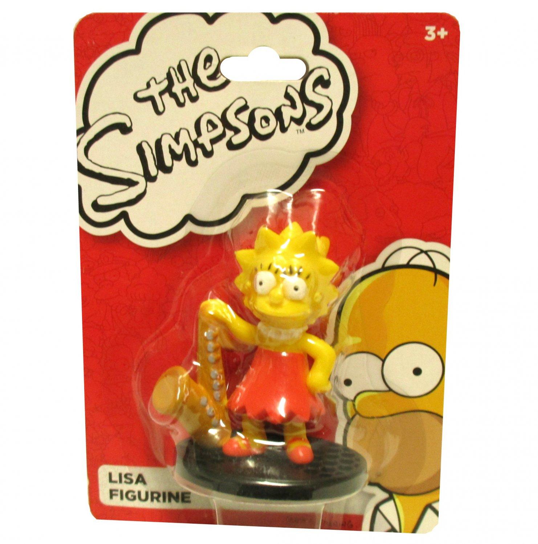 Lisa Simpson Cartoon Figure Collectible Saxophone Music The Simpson's