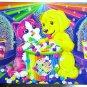 Lisa Frank Jewelry Stationery Chest Glittery Box Rainbow Matinee Puppy Kitten Cat