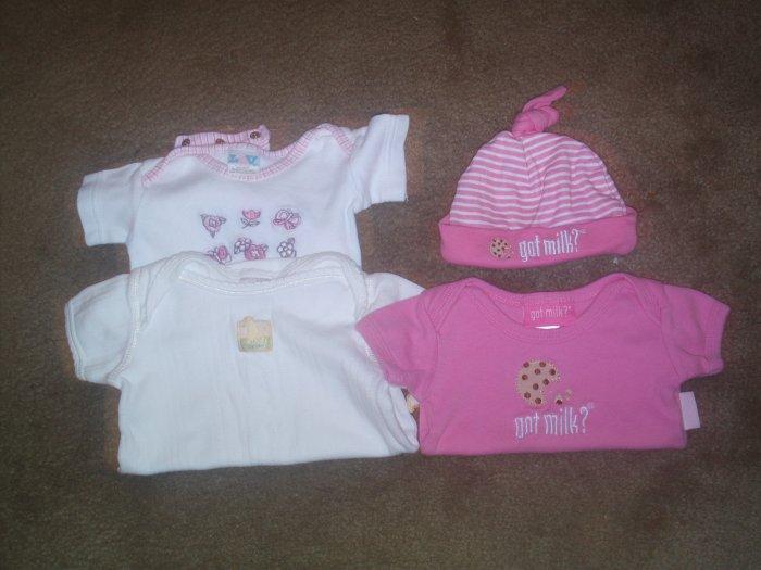 Infant Clothes size 0-6 months