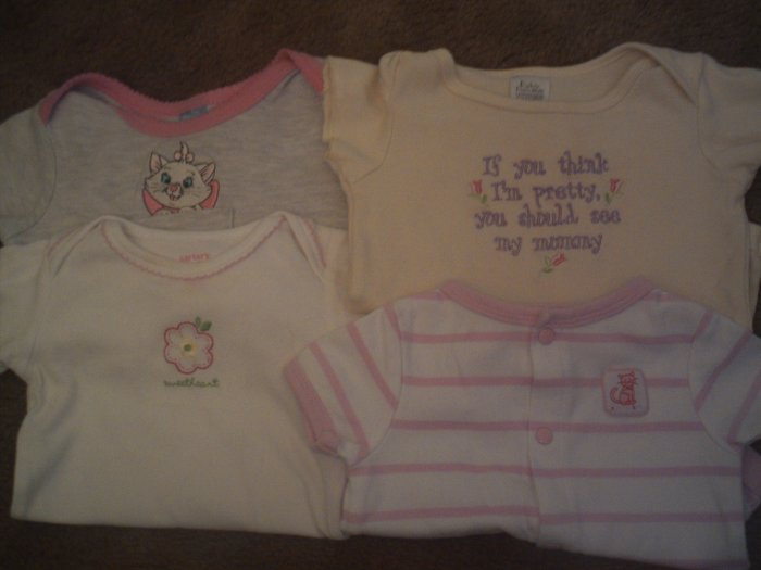 Infant girls size 0-6 months