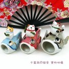A0011 - Genuine Japanese Lucky Cat 3 pcs