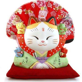A0056 - Japan's Genuine kiln-color çµµ Pharmacist dress feng shui