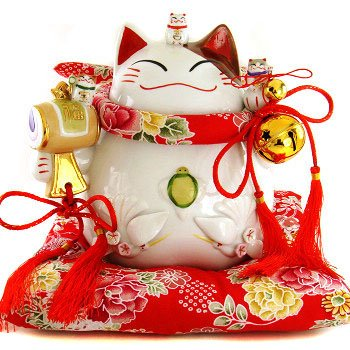A0071 - Genuine Japanese Lucky Cat Hall