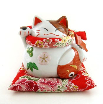 A0078 - Japan Genuine Lok Tong Cattery color hold the fish