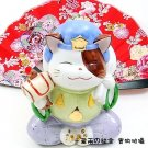 A0085 - Genuine Lok Tong Ceramic Lucky Cat Seven Lucky Gods big black days