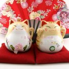 A0091-Japan Genuine cattery of the Lok Tong Ceramic Lucky Cat