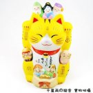 A0099 - Pharmacist kiln Seven Lucky Gods of Japan Genuine Lucky Cat
