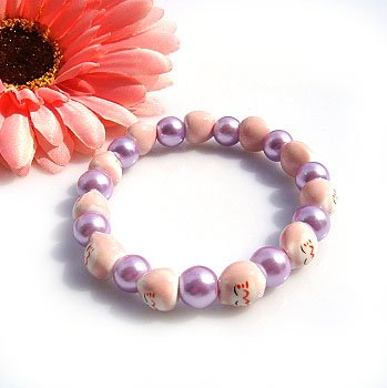 A0106-Japanese Genuine Lok Tong candy bracelet (Purple)
