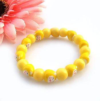 A0107-Japanese Genuine Lok Tong candy bracelet (Yellow)