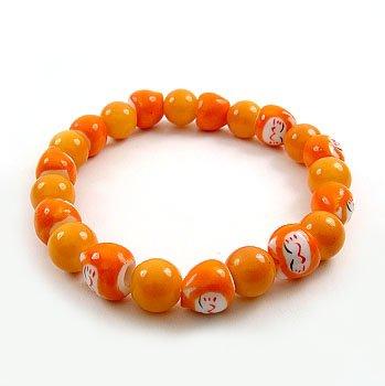 A0108-Japanese Genuine Lok Tong candy bracelet (Orange)