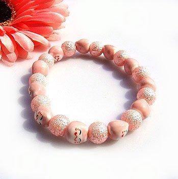 A0109-Japanese Genuine Lok Tong candy bracelet (Pink)