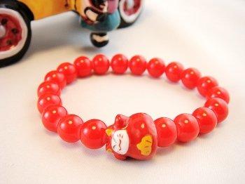 A0111-Japan Genuine Tao Yue Tong Bracelet (Red)