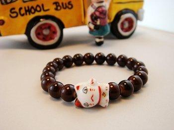 A0112-Japan Genuine Tao Yue Tong Bracelet (Coffee)