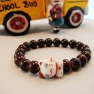 A0112-Japan Genuine Tao Yue Tong Bracelet (Coffee)