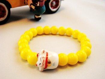 A0115-Japan Genuine Tao Yue Tong Bracelet (Yellow)
