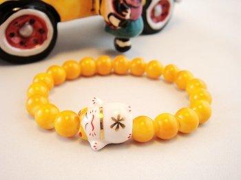 A0118-Japan Genuine Tao Yue Tong Bracelet (Yellow)