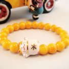 A0118-Japan Genuine Tao Yue Tong Bracelet (Yellow)