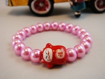 A0128-Japanese Lucky Cat Genuine Tao Yue Tang (Pink)