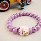 A0129 - Japanese Genuine Pearl wrinkles (Purple)
