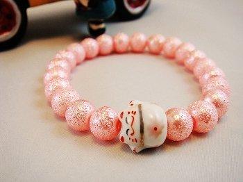 A0131 - Japanese Genuine Pearl wrinkles (Pink)