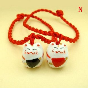 A0151-Japanese Lucky Cat  Bracelet